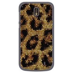 Funda Gel Tpu para Nokia 1 Diseño Leopardo Dibujos