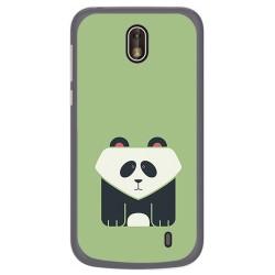 Funda Gel Tpu para Nokia 1 Diseño Panda Dibujos