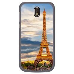 Funda Gel Tpu para Nokia 1 Diseño Paris Dibujos