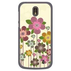 Funda Gel Tpu para Nokia 1 Diseño Primavera En Flor Dibujos