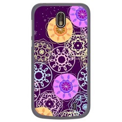 Funda Gel Tpu para Nokia 1 Diseño Radial Dibujos