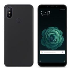 Funda Gel Tpu para Xiaomi Mi 6X / Mi A2 Color Negra