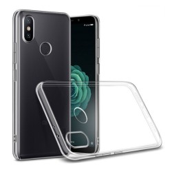 Funda Gel Tpu Fina Ultra-Thin 0,5mm Transparente para Xiaomi Mi 6X / Mi A2