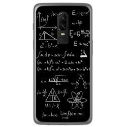 Funda Gel Tpu para Oneplus 6 Diseño Formulas Dibujos