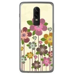 Funda Gel Tpu para Oneplus 6 Diseño Primavera En Flor Dibujos