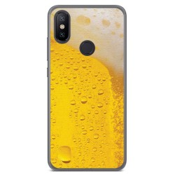 Funda Gel Tpu para Xiaomi Mi 6X / Mi A2 Diseño Cerveza Dibujos