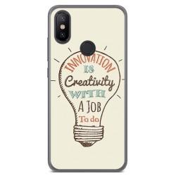 Funda Gel Tpu para Xiaomi Mi 6X / Mi A2 Diseño Creativity Dibujos