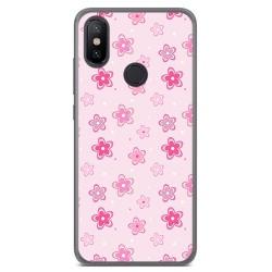 Funda Gel Tpu para Xiaomi Mi 6X / Mi A2 Diseño Flores Dibujos
