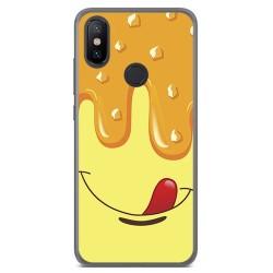 Funda Gel Tpu para Xiaomi Mi 6X / Mi A2 Diseño Helado Vainilla Dibujos