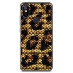 Funda Gel Tpu para Xiaomi Mi 6X / Mi A2 Diseño Leopardo Dibujos