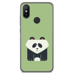 Funda Gel Tpu para Xiaomi Mi 6X / Mi A2 Diseño Panda Dibujos