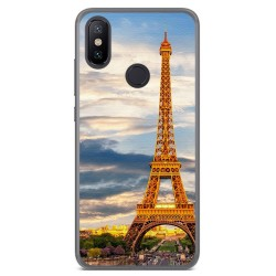 Funda Gel Tpu para Xiaomi Mi 6X / Mi A2 Diseño Paris Dibujos