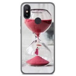 Funda Gel Tpu para Xiaomi Mi 6X / Mi A2 Diseño Reloj Dibujos