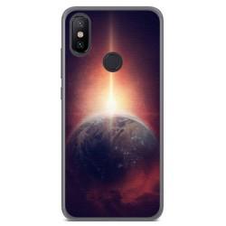 Funda Gel Tpu para Xiaomi Mi 6X / Mi A2 Diseño Tierra Dibujos