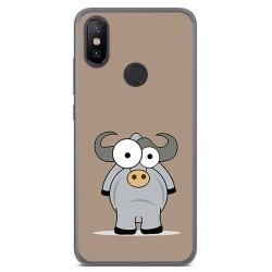 Funda Gel Tpu para Xiaomi Mi 6X / Mi A2 Diseño Toro Dibujos