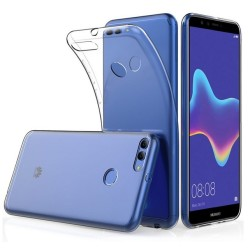 Funda Gel Tpu Fina Ultra-Thin 0,5mm Transparente para Huawei Y9 2018