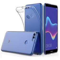 Funda Gel Tpu Fina Ultra-Thin 0,5mm Transparente para Huawei Y9 2018