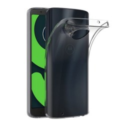 Funda Gel Tpu Fina Ultra-Thin 0,5mm Transparente para Motorola Moto G6