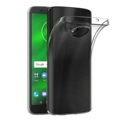 Funda Gel Tpu Fina Ultra-Thin 0,5mm Transparente para Motorola Moto G6 Plus