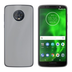 Funda Gel Tpu para Motorola Moto G6 Plus Color Transparente