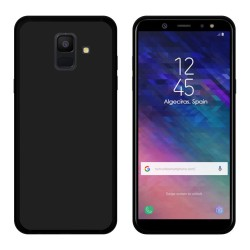 Funda Gel Tpu para Samsung Galaxy A6 (2018) Color Negra