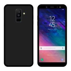 Funda Gel Tpu para Samsung Galaxy A6 Plus (2018) Color Negra