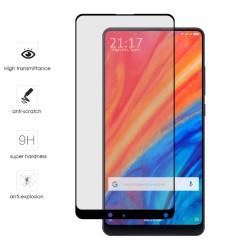 Protector Cristal Templado Frontal Completo Negro para Xiaomi Mi Mix 2S Vidrio