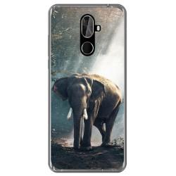 Funda Gel Tpu para Cubot X18 Plus Diseño Elefante Dibujos