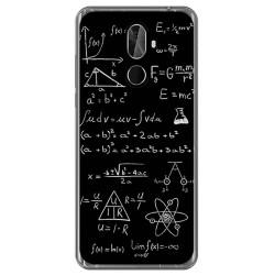 Funda Gel Tpu para Cubot X18 Plus Diseño Formulas Dibujos