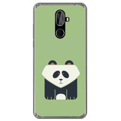 Funda Gel Tpu para Cubot X18 Plus Diseño Panda Dibujos
