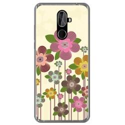 Funda Gel Tpu para Cubot X18 Plus Diseño Primavera En Flor Dibujos