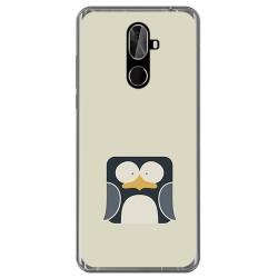 Funda Gel Tpu para Cubot X18 Plus Diseño Pingüino Dibujos