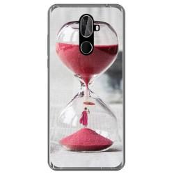 Funda Gel Tpu para Cubot X18 Plus Diseño Reloj Dibujos