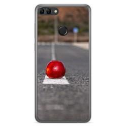 Funda Gel Tpu para Huawei Y9 2018 Diseño Apple Dibujos
