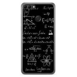 Funda Gel Tpu para Huawei Y9 2018 Diseño Formulas Dibujos