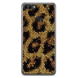 Funda Gel Tpu para Huawei Y9 2018 Diseño Leopardo Dibujos