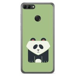 Funda Gel Tpu para Huawei Y9 2018 Diseño Panda Dibujos