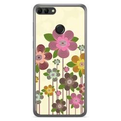 Funda Gel Tpu para Huawei Y9 2018 Diseño Primavera En Flor Dibujos