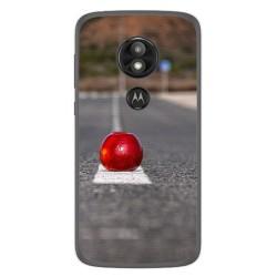 Funda Gel Tpu para Motorola Moto E5 / G6 Play Diseño Apple Dibujos