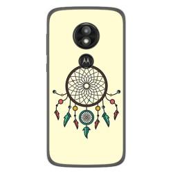 Funda Gel Tpu para Motorola Moto E5 / G6 Play Diseño Atrapasueños Dibujos