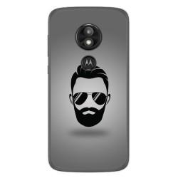 Funda Gel Tpu para Motorola Moto E5 / G6 Play Diseño Barba Dibujos