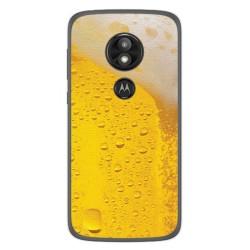 Funda Gel Tpu para Motorola Moto E5 / G6 Play Diseño Cerveza Dibujos