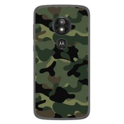 Funda Gel Tpu para Motorola Moto E5 / G6 Play Diseño Camuflaje Dibujos