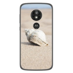 Funda Gel Tpu para Motorola Moto E5 / G6 Play Diseño Concha Dibujos