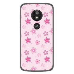 Funda Gel Tpu para Motorola Moto E5 / G6 Play Diseño Flores Dibujos