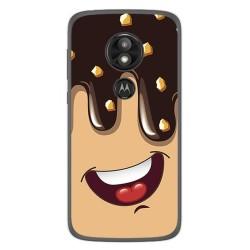 Funda Gel Tpu para Motorola Moto E5 / G6 Play Diseño Helado Chocolate Dibujos
