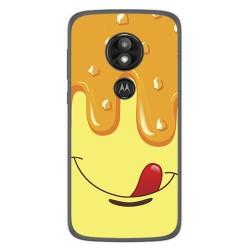 Funda Gel Tpu para Motorola Moto E5 / G6 Play Diseño Helado Vainilla Dibujos
