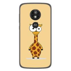 Funda Gel Tpu para Motorola Moto E5 / G6 Play Diseño Jirafa Dibujos