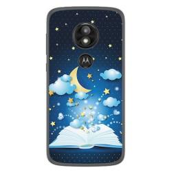 Funda Gel Tpu para Motorola Moto E5 / G6 Play Diseño Libro Cuentos Dibujos