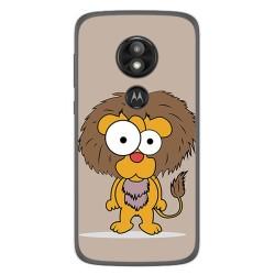 Funda Gel Tpu para Motorola Moto E5 / G6 Play Diseño Leon Dibujos